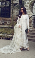 Chikankari Embroidered Front With Hand Work Embroidered Front Border With Hand Work Chikankari Embroidered Back Chikankari Embroidered Back Border Chikankari Embroidered Sleeves With Hand Work Embroidered Duppta Net Dyed Raw Silk Trouser