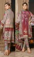 2.5 Mtr Embroidered Khaddar Shirt 2.5 Mtr Wool Shawl