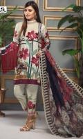 Dupatta Chiffon 2.5 Mtr Shirt Linen 3 Mtr Trouser 2.5 Mtr