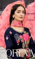 Shirt: - Heavy Embroidered Fine Cotton Dupatta / Shawl: - Embroidered Chiffon Trouser: - Dyed Fine Cotton