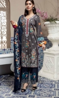 FULLY EMBROIDERED EMB FRONT & BACK EMB SLEEVS & DUPATTA EMB TROUSER