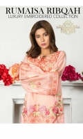 Unstitched Embroidered Kurti