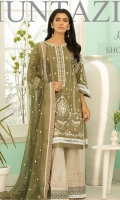 Embroidered Front: 0.87 yard  Embroidered Back: 1 yard  Embroidered 6