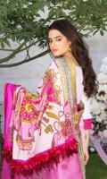 Digital Printed Jacquard Saree Embroidered Blouse Embroidered Border Hand Embroidered Patch