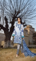 3 Piece Lawn Suit,1.25 Meter Front,1.25 Meter Back Shirt,0.75 M Sleeves,Embroidered Neckline,2.5 Meter Pure Chiffon Dupatta,Sleeves Border,Emb Front Shirt,2 Motif Trouser,2.5 Me