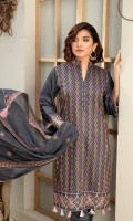 Digital Embroidered Front Shirt Dyed Viscose Trouser Embroidered Bamber Dupatta