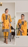 Printed Embroidered Lawn Shirt Printed Lawn Dupatta Dyed Cambric Trouser