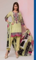 3Pc Printed Lawn Suit