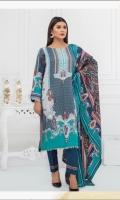 Printed Linen Shirt Printed Linen Dupatta Dyed Trouser