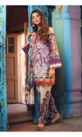 EMB LAWN FRONT : 1.32 MTR PRRINTED LAWN BACK : 1.25 MTR PRINTED SLEEVES : 0.65 MTR PRINTED CAMBRIC PANT : 2.5 MTR PRINTED SILK DUPATTA : 2.5 MTR PRINTED SIDE PANELS