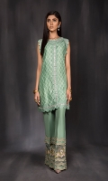 Includes: Shirt, Trouser   Shirt: Cotton Net  Trousers: Rawsilk
