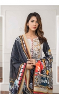 03 Pcs Unstitched Digital Printed Khaddar with Digital Printed Khaddar Shawl