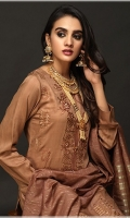 Shirt: Viscose Embroidered Shirt Dupatta: Organza jacquard Dupatta
