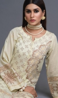 -Unstitched Jacquard Shirt (1pc)