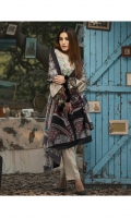 Shirt : Digital Printed Linen Shirt with Embroidered Front. Dupatta : Digital Printed Shawl Dupatta. Trouser : Plain Linen.