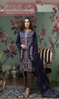 -Self Jacquard Cambric SHIRT with heavy embroidery. (Each design have different embroidery combination of thread , dori , zari , sequence and boring work) -Lawn heavy Jacquard DUPATTA. -Cambric heavy Jacquard TROUSER.