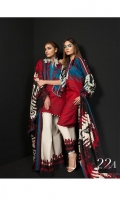 Printed shirt on Lawn Fabric with lawn printed dupatta & printed cotton pants.