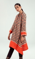 Redefine charm with this printed shirt featuring beautiful bell sleeves, V-neck and a trendy A-line cut