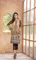 Digital Printed Khaddar Shirt with Embroidered Nickline.  3 MTR SHIRT.