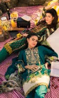 Digital Embroidered Lawn Shirt and Digital Printed Blended Chiffon Dupatta.
