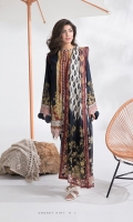 Textured Voile Dupatta with Printed Lawn Shirt,