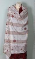 Kashmiri Pashmina Wool Embroidered Shawl