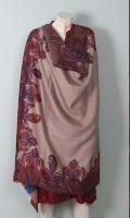 Kashmiri Pashmina Wool Printed Shawl
