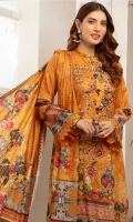 Digital Printed Embroidered Lawn Front Digital Printed Back Digital Printed Lawn Dupatta Plain Cotton Trouser