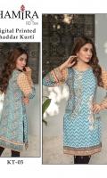 Unstitched Digital Printed Khaddar Shirt