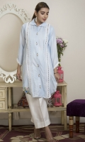 Luxury Pret 2 Piece Cotton Silk Suit