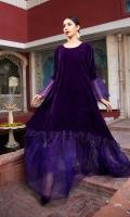 Luxury Pret Velvet 2 Piece Suit