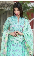 3 pcs embroidered lawn suit