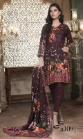 3 Piece Collection Shirt - Printed Linen Dupatta - Printed Linen Trouser - Simple