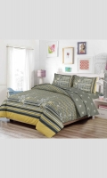 Duvet Set (T144 - 100% Cotton) Double: 1 Duvet Cover & 2 pillow covers King: 1 Duvet Cover & 2 pillow covers