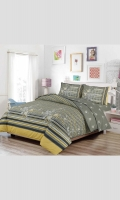 Printed BedSet (T144 - 100% Cotton) Single: 1 Bedset & 1 Pillow Cover Double: 1 Bedset & 2 pillow covers