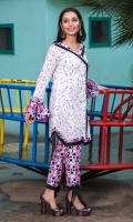 2 PCS Printed Ladies Suit (100% Cotton Fabric) 2.5 Meters Shirt + sleeves 2.5 Meter Trouser Shirt: Lawn Trouser: Lawn