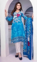2.5 Meters Shirt + sleeves 2.5 Meter Dupatta 2.5 Meter Trouser