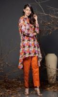 2.5 Meters Printed Shirt 2.5 Trouser Shirt: khaddar Trouser: Khaddar
