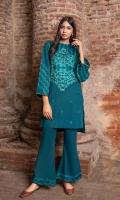 3.25 Meters Embroidered Shirt 2.5 Trouser Shirt: khaddar Trouser: Khaddar