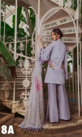 Embroidered Front  Printed Back & Sleeves Printed Silk Dupatta Embroidered Border Patch Embroidered Patch Plain Dyed Trouser