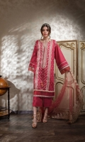Embroidered Centre Panel Embroidered Side Panel (2pieces) Embroidered Border Hem Patch Digital Print Back Dyed Sleeves Dyed Trouser Embroidered Trouser Patch Embroidered Net Dupatta