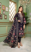 3pc embroidered swiss lawn suit