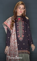 Embroidered Unstitch Suit