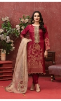 - Viscose Banarsi Shirt with Patch Work Embroidery Designs  - Exclusive Fancy Embroidery Dupattas  - Plain Viscose Shalwar