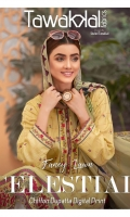 - Neno Kara Embroidered Semi-Stitched Self Jacquard Shirts designs  - Digital Printed Chiffon Handwork Dupattas   - Plain/Printed Cambric Shalwars
