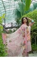 - Un-Stitched Schiffli Lawn Digital Printed Shirts designs  - Digital Print Bamber Chiffon CutWork Dupattas  - Plain Dyed Shalwar