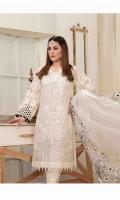 - Semi-Stitched Embroidered Chiffon Shirts Designs  - Fancy Embroidered Chiffon/Net Dupattas  - Plain Dyed Shalwar