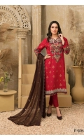 - Embroidered Semi-Stitched Broshia Lawn Shirts designs  - Embroidered Crinkle Chiffon Dupattas  - Plain Cambric Shalwars