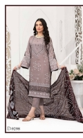 Blooming Unstitched Viscose Screen Print Embroidered & Mirror Work Shirts with Splendid Silk Print Dupattas.