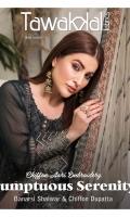 - Aari Embroidered Chiffon Semi-Stitched Shirts  - Aari Embroidered Dupattas  - Banarsi Shalwar
